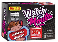Wholesale Watch Ya Mouth Card Game Expansion Pack Ready Ship Party Game Funny Family Mouth Guard Party Board Game LJJK637