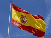 Wholesale Spain FLAG X FT X FT espania flag Spanish Flag X CM X90 CM spain banner