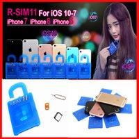 Wholesale R SIM R SIM11 r sim11 R SIM UNLOCK IOS7 IOS8 IOS9 IOS10 R SIM for iphone ios7 x CDMA GSM WCDMA SB AU SPRINT G G