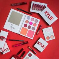 Wholesale valentine Kylie Jenner eyeshadow color wiith mirror Kit Eyeshadow Palette Preorder Cosmetic Colors for valentine s day gift