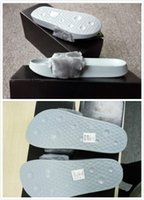Wholesale With Box and Dust Bags RIHANNA FUR LEADCAT FENTY SLIDES MEN SLIPPERS House Winter Slipper Home Shoes Mens Warm Slippers Pantoffle