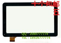 Wholesale black white Inch For Archos Copper Tablet PC Touch screen panel Digitizer Glass Sensor replacement