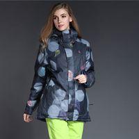 big mountain ski - Big Brand skiing jacket women Waterproof Warm Womens Snowboard jacket Winter Snow coats for mountain skiing ski jacket women