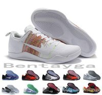 basket weave - 2017 Kobe XI Elite Low Basketball Shoes Men Original New Arrival Sneakers Cheap Retro Weaving Kobe Sport Boots Size Eur
