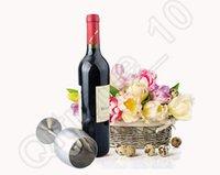Wholesale Stainless Steel Red Wine Cup ML Goblet Flask Wine Pot Accessory Single Cup Stemware Bar Restaurant LJJO1008