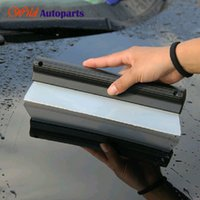 Wholesale Soft Silicone Car Window Glass Wash Cleaner Wiper Squeegee Drying Blade Shower Car Care Tool