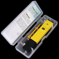 beer meter - The latest version of the test accuracy pH meter pen Electronic pH meter pH tester Portable beer brewed wine test pen