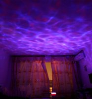 bathroom improvements - Color Changing LED Ocean Wave Night Light Projector with Music Player Home Improvement Party Decorations Lamp For Living Room Bathroom