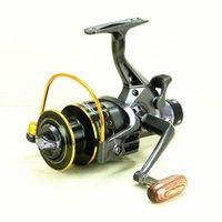 Wholesale MG30 metal head before and after the brake wheel fishing sea rod fishing reel wheel rod carp fishing reel gear wheel