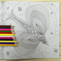 Wholesale 2016 Coloring Books Secret Garden Enchanted Forest Animal Kingdom Children Adult Relieve Stress Drawing Book gift Pages