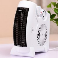 Precio de Air heater-Primavera Promoción Calentador Handy Mini Uso de la Oficina Portal Calentadores Eléctricos Aire acondicionado pequeño para las mujeres hombres