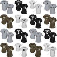 Baseball austin size - women Bo Jackson Jeff Keppinger rollins Austin Jackson Chicago White Sox Baseball Jerseys cool base Stitched size S XL for sale