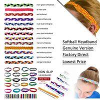 athletic hair bands - No Slip Grip Non Slip Sports Athletic Nylon Triple Braided Sports Headband Braided Headband NEW NON SLIP Sports Hair Bands