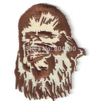 animated tv characters - 4 quot CHEWBACCA CHEWY Star Wars Character Sci Fi TV Movie Animated Embroidered Emblem applique iron on patch