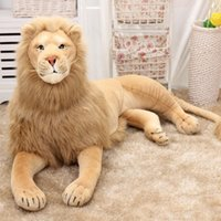 Wholesale Hot Selling Lion Plush Toy Stuffed Animal Doll Decorative Throw Cushion Household Sofa Car Decoration Gift