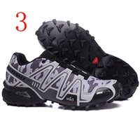 air speed shoe - Solomon speedcross shoes Women Speed Cross III Deep Blue Balck Grey and black Cross country shoes Training Outdoor Running shoes