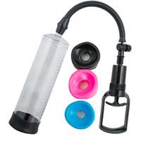 Wholesale High Quality quot POWER Vacuum Penis Pump Penis Enhancement Enlargement Sleeves S M L