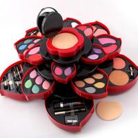 Wholesale Miss Rose Makeup Kit Collection EyeShadow Party Wear Makeup Eye Shadow Palette For Dresser full kit Original fashion hot DHL