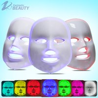 Wholesale 7 colors photon PDT led facial mask LED light therapy beauty device For Skin Rejuvenation Home Use