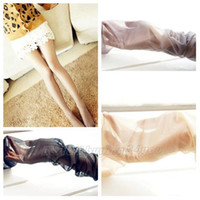 Cheap Wholesale-Sexy Women's Glitter Shimmer Pantyhose Shiny Sheer Glossy Stockings Tights Free Shipping