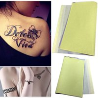 Wholesale Sheets Set Tattoo Carbon Stencil Transfer Copy Paper Thermal Outline M02287