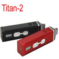 Titan 2 Vaporizador kit Hebe hierba seca vaporizador 2200mah con pantalla LED hebe titan 2 VS snoop dogg Gpro