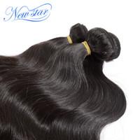 alibaba virgin hair - ertified Human Hair Hair Weaving Peruvian Virgin Human Hair Extension Bundles Body Weave Wave Alibaba express Unprocessed New Star