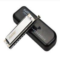 achat en gros de harmonica-Livraison gratuite !!! Easttop 10 trous 40 tons Advanced Harmonica chromatique T10-40 vous aimerez cette pièce tellement