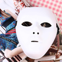Wholesale The Original JabbaWockeeZ Mask Hip Hop Men Dancer Masks White for Costume party Halloween Cosplay Festival Christmas Masquerade
