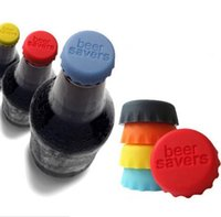 Wholesale Silicone Lids Bottle Cap Good Quality Sealing Plug Wine Corks Seasoning Cap Silicone Beer Bottle Beer Covers Drinkware Sealing Lids F93