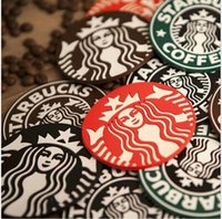 Wholesale Silicone Coasters Cup Cushion Holder Starbucks sea maid coffee Coasters Cup Mat