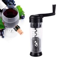 Wholesale Smart Touch Wine Bottle Opener Finger Hand Wrist Handheld Bottle Cap Opener Tool Bottle Opener Elastic Automatic Corkscrew Foil Cutter F158