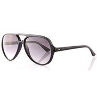 achat en gros de lunettes de mode unisexe-La meilleure qualité Unisex Cats 5000 Lunettes de soleil Flash Ray Glass Lens Protection UV Brand Designer Fashion Vintage Lunettes de soleil avec paquet