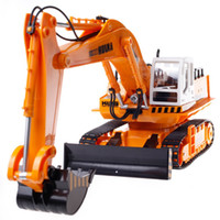 Wholesale CH RC Excavator Toys G Remote Control Engineering Truck Digger Truck Model Electronic Excavator Heavy Machinery Toy