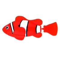 Wholesale Funny Swim Electronic Robofish Activated Battery Powered Robo Toy fish Robotic Pet for Fishing Tank Decorating Fish