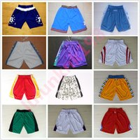 Men basketball clippers jerseys - USA Basketball Shorts Rockets Sport Training Shorts Clippers Team shorts Loose Polyester Classic Pockets For men With Logo Basketball Pant