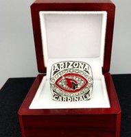 arizona championship ring - Europe America new arrival Men fashion sports jewelry Arizona Card inals championship ring fans souvenir gift
