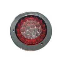 Wholesale GF CH RW inch m LED Round Truck Stop Tail Turn Light Red White