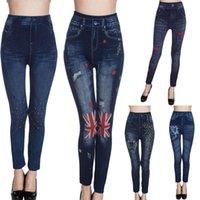 Wholesale JSEO Women New Fashion Stretch Denim Jeans Skinny Pants Vintage Comfy Ankle Length Jean Legging