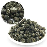 al por mayor perlas de té de jazmín orgánica-Mano Roll Orgánica Premium Rey grado Jasmine Dragon Pearl Ball té verde chino