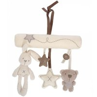 baby crib musical mobile - Hug Me Baby Crib Musical Mobile Cot Bell Music Box with Holder Arm Baby Bed Hanging Rattle Toys Learning Education Toys ER