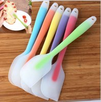 baked butter - Silicone Cake Scraper Wedding Cake Cream Butter Spatula Silicone Cake Spatula Batter Scraper Cream Scraper DIY Baking Tool KKA1007