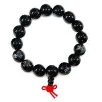 agate decor - Buddhist Tibetan Decor Prayer Beads Bracelet Bangle Wrist Ornament Buddha Agate Beads Women Jewelry Religion Charm