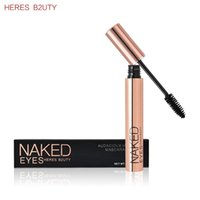 Wholesale 2017 Newest Makeup Naked HERES B2UTY Makeup Audacious Mascara MLGlod Rose tube Waterproof Black Free DHL to All The World
