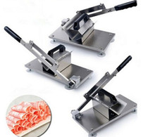beef mix - 2016 new design frozen beef and mutton slicing machine manual meat cutting machine home use vegetable slicing machine mutton rolls machine