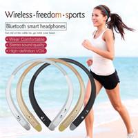 Wholesale HBS913 HBS Bluetooth Wireless Headphones Headset Sport Neckband Stereo Earphones HBS for LG iPhone Samsung iphone7 plus s7 edge