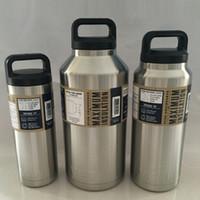 Wholesale Yeti Tumbler oz oz oz Yeti Cups Rambler Stainless Steel Yeti Bottle With Insulated Leak Proof Cap