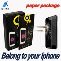 Wholesale Iphone Plus Iphone S Plus S Top Quality Tempered Glass Film Screen Protector MM D free Shiping within day