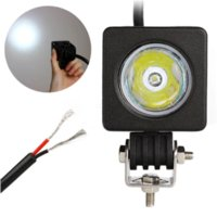 Wholesale Automobiles amp motorcycles square auto parts w led work light for offroad car truck forklift