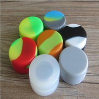 Wholesale Silicone Non stick Container For Wax Cheap Silicone Wax Jars Silicone Bho Container ml Round Fda Approved